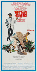 """Movie Posters:Foreign, That Man from Rio (United Artists, 1964). Three Sheet (41"""" X 78""""). Foreign.. ..."""