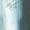 Mainstream Illustration, Canvas 048. Where I Meet You. Acrylic on canvas. 12 x 12in.. ...