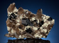 Minerals:Cabinet Specimens, SCHORL with QUARTZ & FELDSPAR. Davib East Farm 61 (Davib OstFarm), Karibib District, Erongo Region, Namibia. . ...