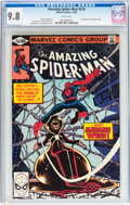 Modern Age (1980-Present):Superhero, The Amazing Spider-Man #210 (Marvel, 1980) CGC NM/MT 9.8 Whitepages....