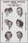 "Movie Posters:Academy Award Winners, Academy Awards Art Portfolio Poster (International Sales Services,1962). One Sheet (27"" X 41""). Academy Award Winners.. ..."