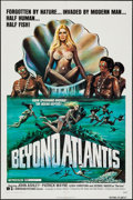 """Movie Posters:Fantasy, Beyond Atlantis & Other Lot (Dimension, 1973). One Sheets (2)(27"""" X 41""""). Fantasy.. ... (Total: 2 Items)"""