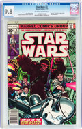 Bronze Age (1970-1979):Science Fiction, Star Wars #3 (Marvel, 1977) CGC NM/MT 9.8 Off-white to white pages....