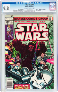 Star Wars #3 (Marvel, 1977) CGC NM/MT 9.8 Off-white to white pages