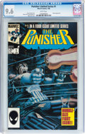 Modern Age (1980-Present):Superhero, Punisher (Limited Series) #1 (Marvel, 1986) CGC NM+ 9.6 White pages....