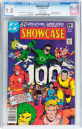 Bronze Age (1970-1979):Superhero, Showcase #100 (DC, 1978) CGC NM/MT 9.8 White pages....