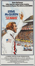 "Movie Posters:Sports, Le Mans (National General, 1971). Three Sheet (41"" X 77""). Sports.. ..."