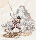 Original Comic Art:Covers, Arthur Suydam Tarzan #3 Cover Original Art (Dark Horse,1996)....