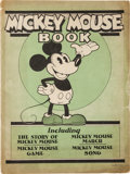 Platinum Age (1897-1937):Miscellaneous, Mickey Mouse Book Later Printing (Bibo & Lang, 1931) Condition:VG....