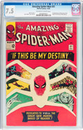 Silver Age (1956-1969):Superhero, The Amazing Spider-Man #31 (Marvel, 1965) CGC VF- 7.5 Off-white to white pages....