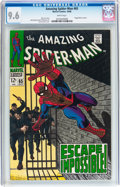 Silver Age (1956-1969):Superhero, The Amazing Spider-Man #65 (Marvel, 1968) CGC NM+ 9.6 White pages....