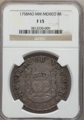 Mexico, Mexico: Ferdinand VI Pillar Dollar of 8 Reales 1758 Mo-MM F15NGC,...
