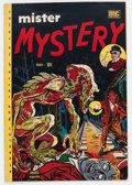 Golden Age (1938-1955):Horror, Mister Mystery #2 (Aragon, 1951) Condition: FN....