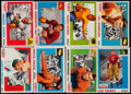 Football Cards:Sets, 1955 Topps All-American Collection With Thorpe and Rockne (34). ...