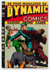 Dynamic Comics #23 (Chesler, 1947) Condition: VG