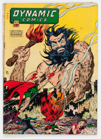 Dynamic Comics #20 (Chesler, 1946) Condition: VG-