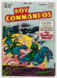 Boy Commandos #23 (DC, 1947) Condition: VG