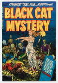 Golden Age (1938-1955):Horror, Black Cat Mystery #37 File Copy (Harvey, 1952) Condition: VF/NM....