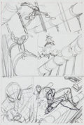 "Original Comic Art:Panel Pages, Gil Kane The Amazing Spider-Man #121 ""The Night GwenStacy Died"". Page 15 Preliminary Original Art (Ma..."