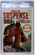 Silver Age (1956-1969):Adventure, Tales of Suspense #16 White Mountain pedigree (Marvel, 1961) CGC FN/VF 7.0 Off-white to white pages....