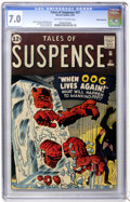 Silver Age (1956-1969):Adventure, Tales of Suspense #27 White Mountain pedigree (Marvel, 1962) CGC FN/VF 7.0 Off-white to white pages....