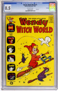 Silver Age (1956-1969):Cartoon Character, Wendy Witch World #1 File Copy (Harvey, 1961) CGC VF+ 8.5 Off-whitepages....