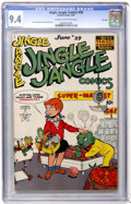 Golden Age (1938-1955):Funny Animal, Jingle Jangle Comics #39 File Copy (Eastern Color, 1949) CGC NM 9.4Cream to off-white pages....