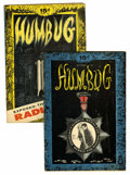 Silver Age (1956-1969):Alternative/Underground, Humbug #2 and 3 Group (Humbug, 1957).... (Total: 2 Comic Books)