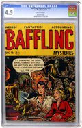 Golden Age (1938-1955):Horror, Baffling Mysteries #12 (Ace, 1952) CGC VG+ 4.5 Off-white pages....