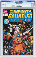 Modern Age (1980-Present):Superhero, The Infinity Gauntlet #1 (Marvel, 1991) CGC NM+ 9.6 White pages....