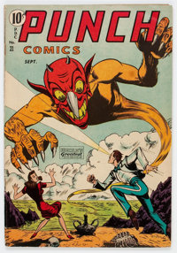 Punch Comics #21 (Chesler, 1947) Condition: VG/FN