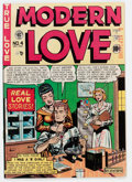 Golden Age (1938-1955):Romance, Modern Love #4 (EC, 1950) Condition: VG/FN....