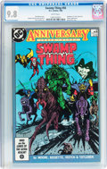 Modern Age (1980-Present):Horror, Swamp Thing #50 (DC, 1986) CGC NM/MT 9.8 White pages....