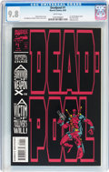 Modern Age (1980-Present):Superhero, Deadpool: The Circle Chase (1993) #1 (Marvel, 1993) CGC NM/MT 9.8 White pages....