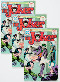 Bronze Age (1970-1979):Superhero, The Joker #1 Group (DC, 1975) Condition: Average VF.... (Total: 16 Comic Books)
