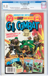 G.I. Combat #248 (DC, 1982) CGC NM/MT 9.8 White pages