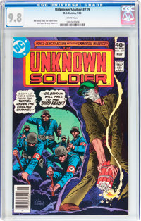 Unknown Soldier #239 (DC, 1980) CGC NM/MT 9.8 White pages