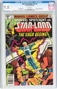 Marvel Spotlight #6 Star-Lord (Marvel, 1980) CGC NM/MT 9.8 White pages