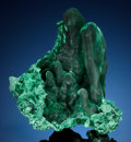 Minerals:Small Cabinet, MALACHITE. Liufengshan Mine, Guichi District, ChizhouPrefecture, Anhui Province, China . ...