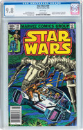 Modern Age (1980-Present):Science Fiction, Star Wars #69 (Marvel, 1983) CGC NM/MT 9.8 White pages....