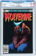 Modern Age (1980-Present):Superhero, Wolverine Limited Series #3 (Marvel, 1982) CGC NM/MT 9.8 Whitepages....