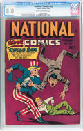Golden Age (1938-1955):Superhero, National Comics #39 (Quality, 1944) CGC VF 8.0 Cream to off-white pages....