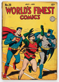World's Finest Comics #29 (DC, 1947) Condition: VG/FN
