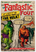 Silver Age (1956-1969):Superhero, Fantastic Four #12 (Marvel, 1963) Condition: VG-....