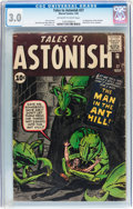 Silver Age (1956-1969):Superhero, Tales to Astonish #27 (Marvel, 1962) CGC GD/VG 3.0 Off-white to white pages....