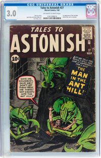 Tales to Astonish #27 (Marvel, 1962) CGC GD/VG 3.0 Off-white to white pages