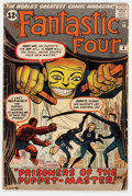 Silver Age (1956-1969):Superhero, Fantastic Four #8 (Marvel, 1962) Condition: GD....