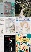 Miscellaneous:Ephemera, Group of Twenty-Six Original Dust Jackets. Various publishers anddates. ...