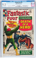 Silver Age (1956-1969):Superhero, Fantastic Four #32 (Marvel, 1964) CGC NM- 9.2 Off-white to white pages....