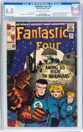 Silver Age (1956-1969):Superhero, Fantastic Four #45 (Marvel, 1965) CGC FN+ 6.5 Off-white to white pages....
